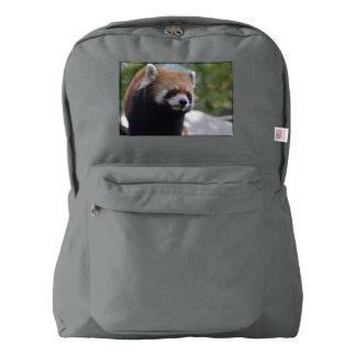 Sweet Red Panda Bear Backpack