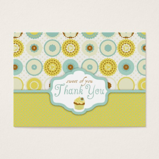 Sweet Retro TY Gift Tag