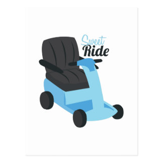 Sweet Ride Postcard