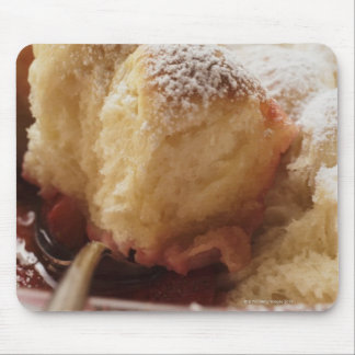 Sweet rolls (Buchteln) with icing sugar Mouse Pad