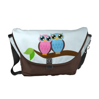 Sweet Romantic Owls Commuter Bags