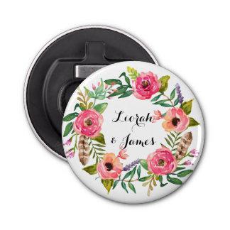 Sweet romantic watercolor flowers