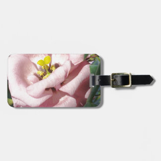 Sweet rose flower bag tag