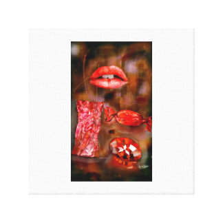 sweet ruby canvas print