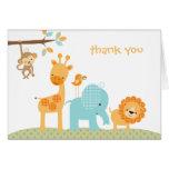 Sweet Safari Note Card Cards