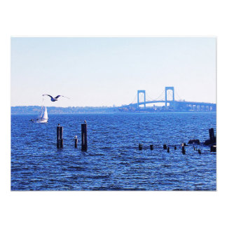 Sweet Sailing At City Island Photographic Print