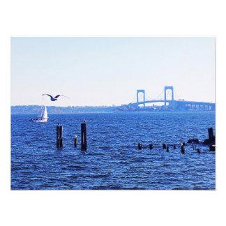 Sweet Sailing At City Island Photographic Print
