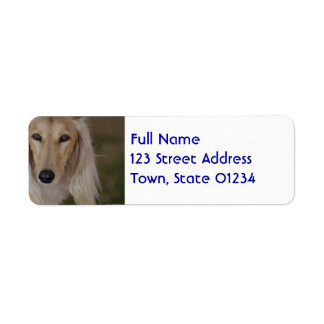 Sweet Saluki Return Address Label