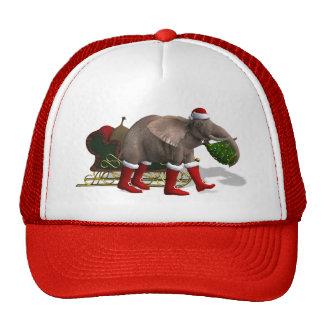 Sweet Santa Claus Elephant Cap