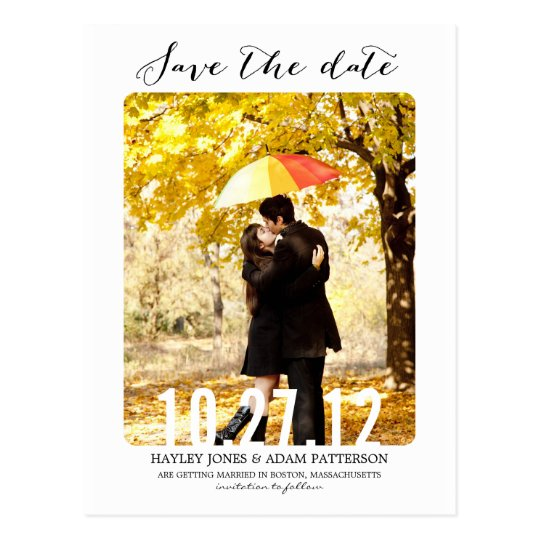 SWEET Save The Date Postcard