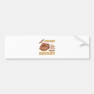 Sweet & Savory Bumper Sticker