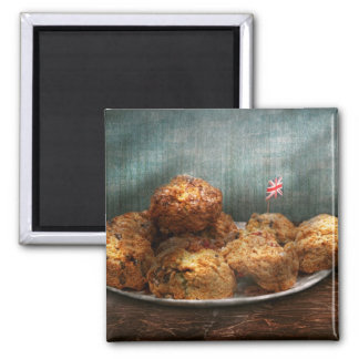 Sweet - Scone - Scones anyone Square Magnet