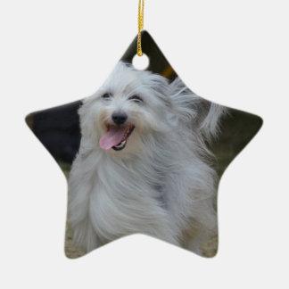 Sweet Sheepdog Christmas Ornament