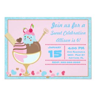 Sweet Shop Invitation
