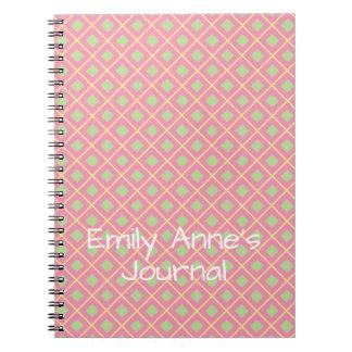Sweet Shop Lattice Personalized Journal