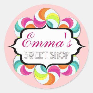Sweet Shop Lollipop Stickers by Kelly Schwark