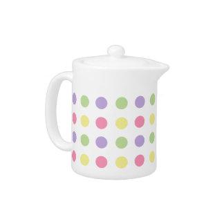 Sweet Shop Polka Dots on White