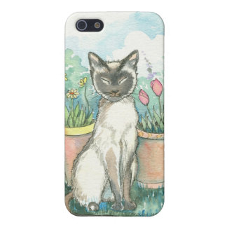 Sweet Siamese Cat iPhone Case Case For iPhone 5/5S