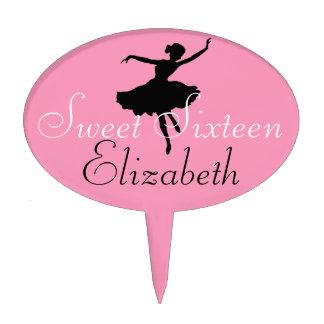 Sweet Sixteen Ballerina Cake Pick