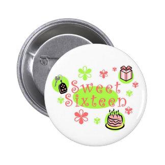 Sweet Sixteen button