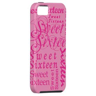 Sweet Sixteen Tough iPhone 5 Case