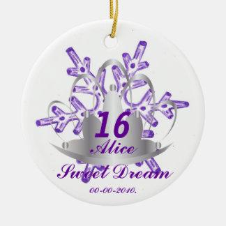 Sweet Sixteen Dream-Customize Christmas Ornament