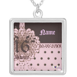 Sweet Sixteen Gifted Necklace Charm -Customize
