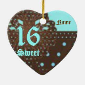 Sweet Sixteen Gifted Ornament -Customize