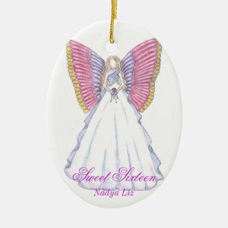 Sweet Sixteen Keepsake-Customize Christmas Ornament
