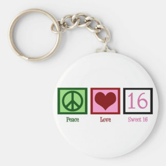 Sweet Sixteen Key Ring