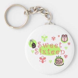 Sweet Sixteen keychain
