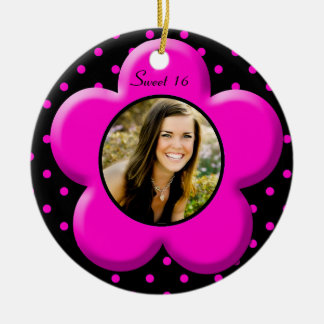 Sweet Sixteen Photo Ornament Keepsake