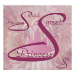 Sweet Sixteen Princess Poster - Customise