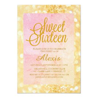 Sweet Sixteen Sparkle Invitation