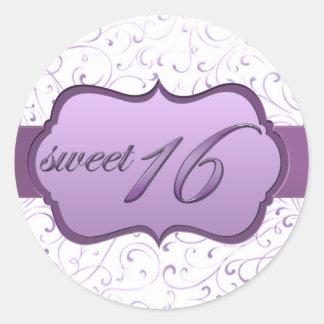 """""""Sweet Sixteen"""" Sticker"""