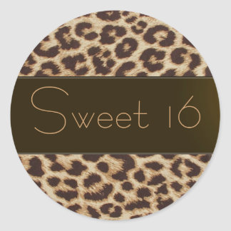 """Sweet Sixteen"" Sticker"
