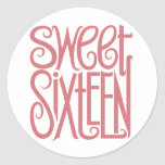 Sweet Sixteen Sticker