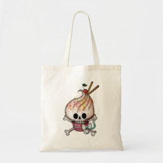 Sweet Skull Cupcake Tote Bag