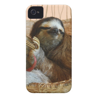 Sweet Sloth iPhone 4 Cases