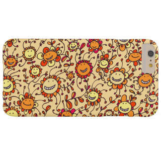 Sweet Smiling Sunflowers iPhone 6 Plus Case