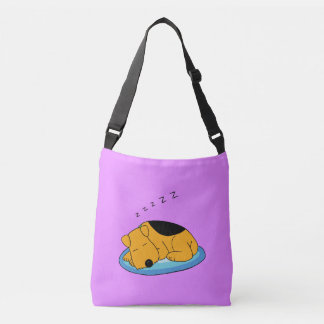 Sweet Snoring Airedale Terrier All-Over-Print Tote