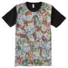 Sweet Snowmen all over T-shirt