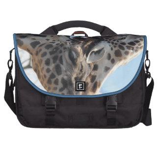 Sweet Snuggling Giraffes Commuter Bag