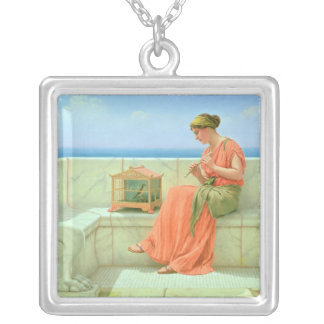 Sweet Sounds, 1918 Silver Plated Necklace
