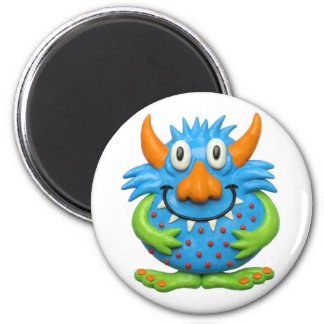 Sweet Spotted Monster 6 Cm Round Magnet