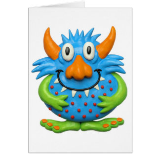 Sweet Spotted Monster Card
