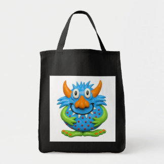 Sweet Spotted Monster Grocery Tote Bag