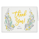 Sweet Sprigs Thank You Note Card
