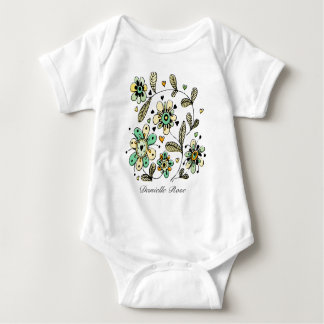 Sweet Spring Flowers Baby T Shirt