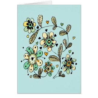 Sweet Spring Flowers Mother s Day Card